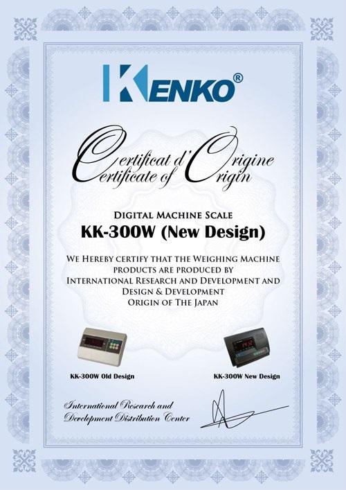 Sertifikat Kenko